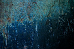 Old metal plate Stock Photography