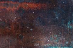 Old Metal Rust Textured Background. Decay steel metal Background Royalty Free Stock Photo