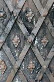 Old metal and rusty door Stock Image