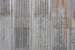 Old metal sheet roof texture. Pattern of old metal sheet. Metal sheet texture. Rusty metal sheet texture royalty free stock image
