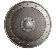 Old metal shield isolated 3d illustration Stock Photo