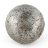 An old metal sphere Stock Image