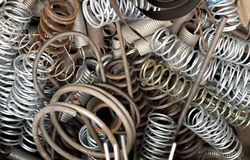Old metal springs Royalty Free Stock Images
