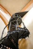 Old metal stairway photograph Stock Photos