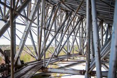 Old metal structure Royalty Free Stock Images