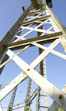 Old metal structure Stock Photography