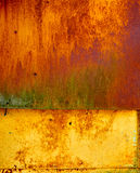 Old metal surface with rust Royalty Free Stock Photography
