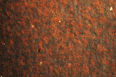 Old metal surface showing rust Stock Photography