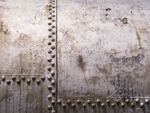 Old Metal Tank With Rivets Royalty Free Stock Image