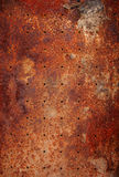 Old metal texture. With round holes Stock Image