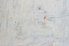 Old metal texture. Background of old rusty white painted metal with scratches. Grunge texture royalty free stock image