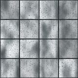 Old metal tiles Royalty Free Stock Images