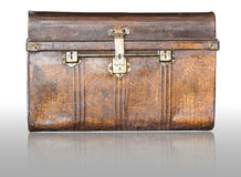 Old metal  treasure chest Royalty Free Stock Photography