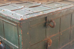 Old Metal Trunk Royalty Free Stock Images