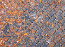 Old metal wall background Stock Photos