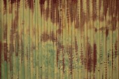 Old metal wall Royalty Free Stock Image
