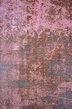 Old metal wall texture background with scratches Royalty Free Stock Images