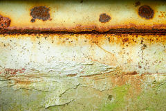 Rusty metal wall Royalty Free Stock Photos