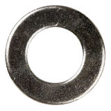 Old metal washer Stock Image