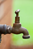 Old Metal Water Tap Royalty Free Stock Photos