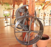 Old metal wheel Royalty Free Stock Photography