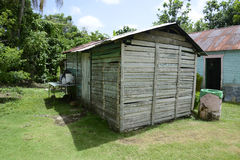 Old metal and wooden shed Royalty Free Stock Photos