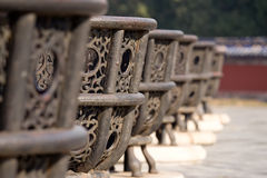 Old metall baskets royalty free stock photos