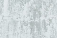 Metall wall with a layer of old shabby white paint and rust, background photo texture. royalty free stock photos