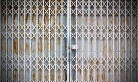 Old metallic door Stock Photography