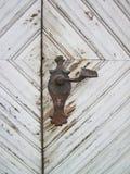 Old metallic handle Stock Images