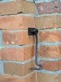 Old metallic hook Stock Image