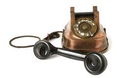 Old Metallic Phone Royalty Free Stock Images