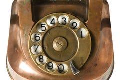 Old Metallic Phone Royalty Free Stock Image