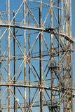 Old metallic structure Stock Images