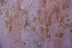 Old metallic surface texture. Old  metal brown background with rusty spots Stock Image