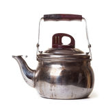 Old metallic teapot Royalty Free Stock Photography