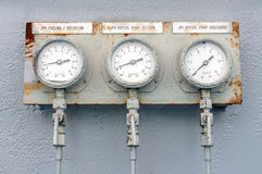 Old meter Royalty Free Stock Photo