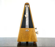 Old metronome, instrument Royalty Free Stock Photo