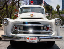 Old mexican ambulance from XX century Royalty Free Stock Photos