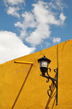 Old Mexican lamppost Stock Image