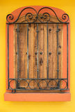 Old Mexican Shutters Stock Photography