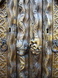 Old Mexican wooden door Royalty Free Stock Photography