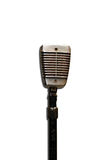 Old Microphone Stock Photography