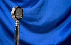 Old Microphone. Royalty Free Stock Photography