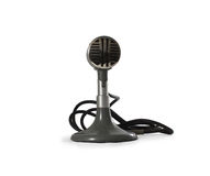 Old microphone. Stock Images