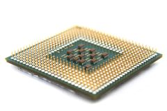 Old microprocessor Stock Photography