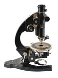 Old microscope Royalty Free Stock Photos