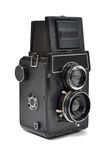 Old middle-format camera Royalty Free Stock Image