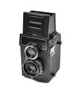 Old middle-format camera Royalty Free Stock Photo