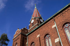 Old Midwest church. Royalty Free Stock Photos
